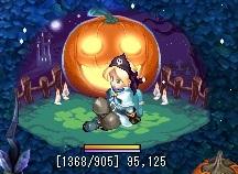 あわルシアンハロウィンアバターかぼちゃ